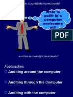 Auditing in CIS Environment