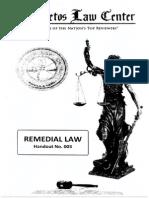 Baste - Remedial Law Handout 3