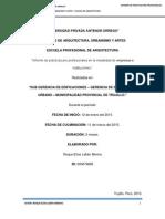 Informe de Practicas Municipalidad Provincial de Trujillo.