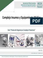 Mecon-complejo Insumos y Equipamiento Medico 2011