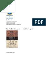 Reseña Sayac Valencia Triana y El Capitalismo Gore
