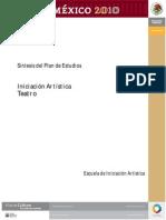 PLAN DE ESTUDIOS TEATRO