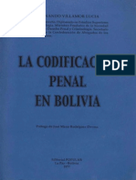 Codificacion Penal en Bolivia