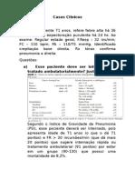 Pneumonia - Casos Clinicos 1
