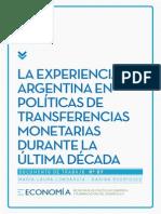 Mecon-la Experiencia Argentina en Políticas de Transferencias Monetarias Durante La Última Década-2015