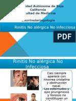Rinitis No Alergica No Infecciosa
