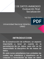 Base de Datos Avanzado Final