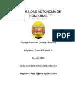 Informe de Quimica Organica