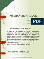 medidores masicos