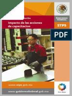 STPS_Impacto de Las Acciones de Capacitación