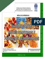 Elaboración de Frutas Confitadas y Productos Deshidratados