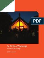 Te Tiriti o Waitangi Treaty of Waitangi