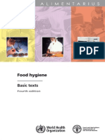 Codex Alimentarius Food Hygiene