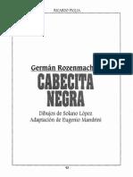 Historieta de Cabecita Negra, Rozenmacher.pdf