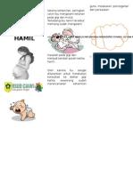 Kesehatan Gigi Dan Mulut Pada Ibu Hamil