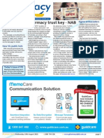 Pharmacy Daily for Wed 19 Aug 2015 - Pharmacy trust key - NAB, Pharmacy role in co-ordinated care - Guild, Sigma ambassadors, Health AMPERSAND Beauty and much more