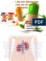 Efecto Farmacos Diuréticos en Sist. Urinario