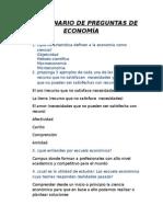 Cuestionario de Preguntas de Economía1