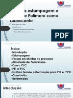 Atrito Na Estampagem e o Uso de Polímero23