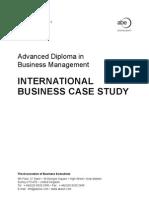 International Business Case Study - Timothy Mahea