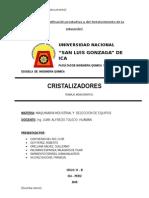 Cristalizadores - Maquinaria Ind.