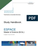 ESPACE StudyHandbook2013 14