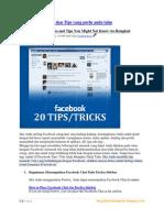 20 Facebook Hack Dan Tips Trick