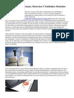 Letrado De Separaciones, Divorcios Y Nulidades Maritales