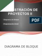 Administración de Proyectos II