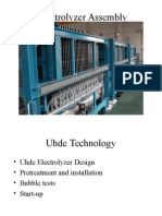 3.0 Electrolyzer Assembly - 4.0 Electrolysis