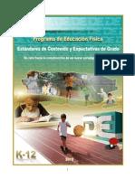 Estándares y Expectativas del Programa de  Educación Física (2015)