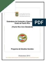 Estándares y Expectativas del Programa de Estudios Sociales