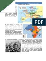 Resumen de la Primera y Segunda Guerra Mundial