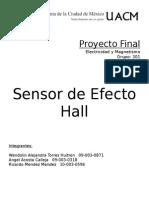 Proyecto Efecto Hall