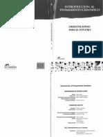 Introducción Al Pensamento Científico - Orientaciones Para El Estudio