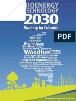 Bioenergy Technology Roadmap for Colombia