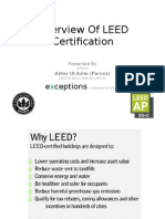 Overview of LEED Certification