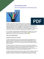 Factores de Corrección de Corriente Para Cables