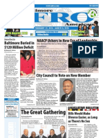 Baltimore Afro-American Newspaper, February 27, 2010