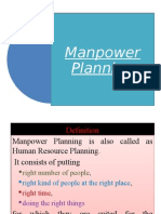 Manpower Planning APPM