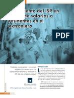 Tratamiento en El Isr Pagos de Salarios a Residentes en El Extranjero 20150415 593