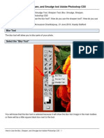 How to Use the Blur, Sharpen, and Smudge tool Adobe Photoshop CS5.pdf