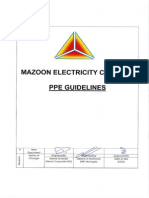 Mzec Hse Gl 02 Ppe Guideline