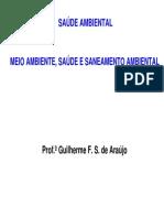 2 EAM005 - Meio Ambiente Saúde e Saneamento