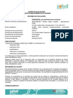 Exenatida Semanal Informe Completo