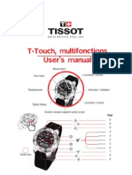 T-Touch, Multifonctions User's Manual