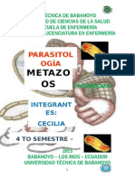 PARASITOLOGIA -- METAZOOS