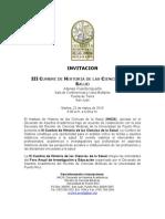 Invitacion III Cumbre de Historia de Las