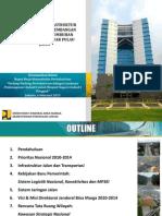 Kemen Pu - Rapat Kerja Kementerian Perindustrian - Pembangunan Infrastruktur Pusat Industri Di Luar p. Jawa 6 Februari 2014 Rev1