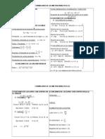 Formulario de Geometria Analitica Para Examen de Enlace
